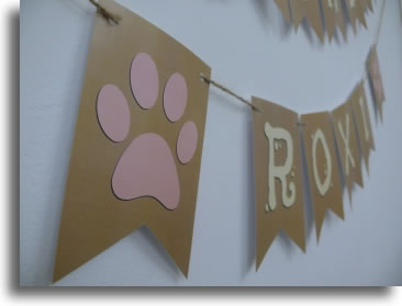 Dog breed decorations LoveBrite shadow