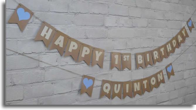 LoveBrite Birthday bunting